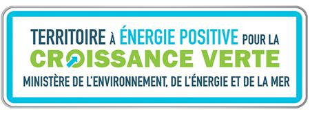 Logo Territoire à energie positive avec logo ComCom