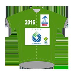 maillot vert 2016