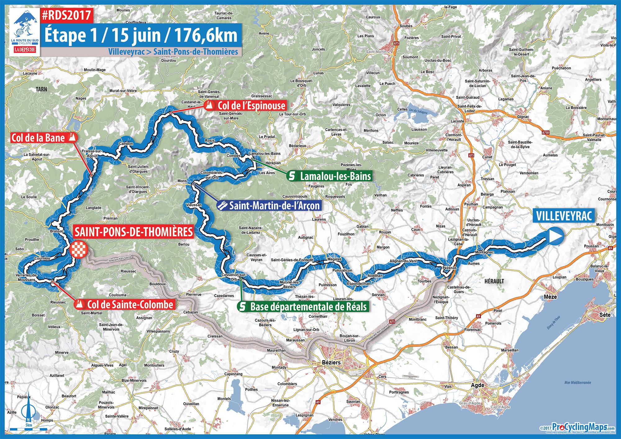 RDS2017 - Carte étape 1