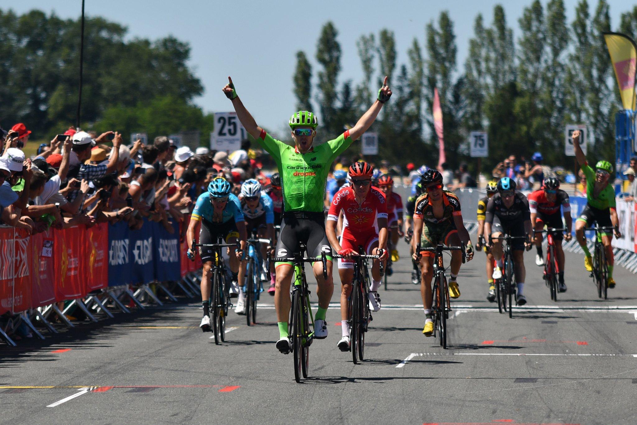 Tom Scully Vainqueur D'étape. Silvan Dillier Remporte La L'épreuve 2017.