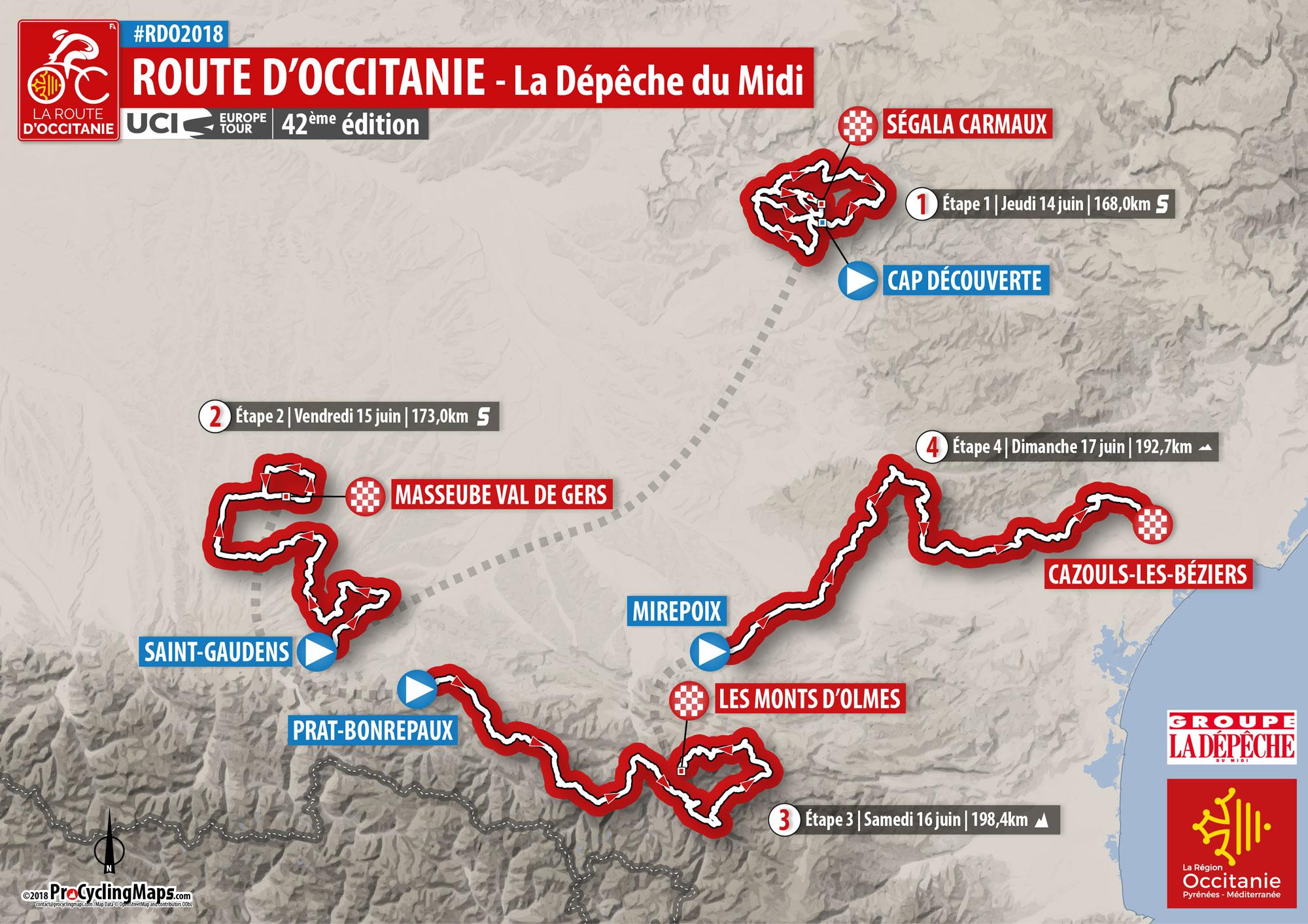 La Route du Sud devient La Route d'Occitanie