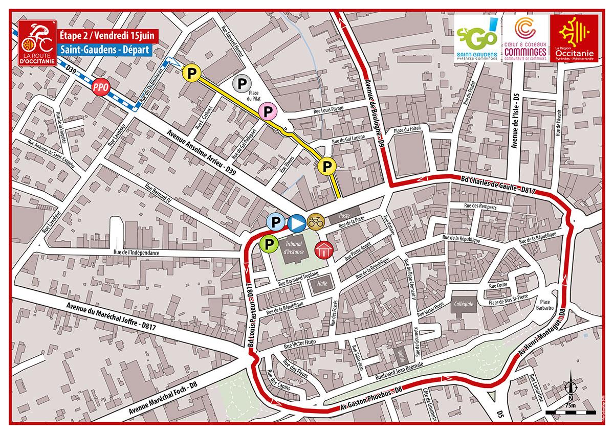 RDO 2018—Plan E2 Depart Saint Gaudens