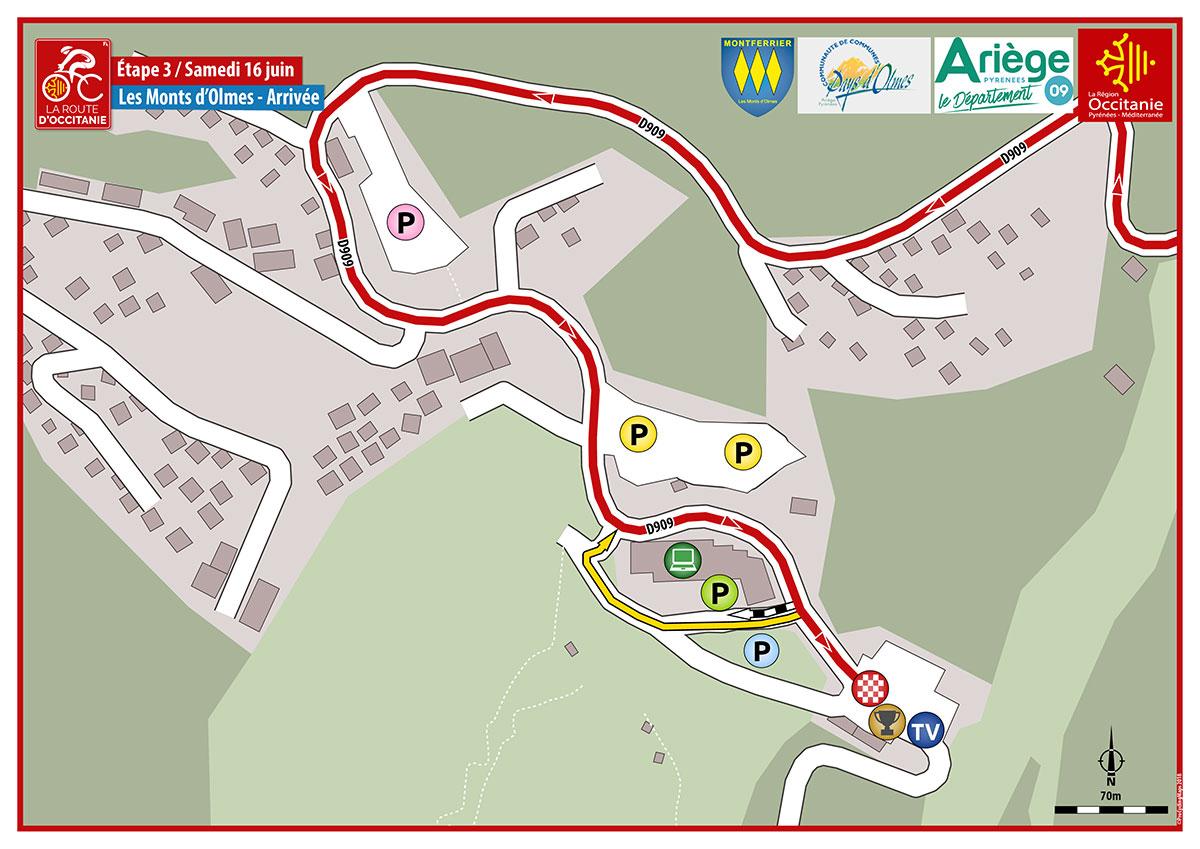 RDO 2018—Plan E3 Arrivee Les Monts DOlmes