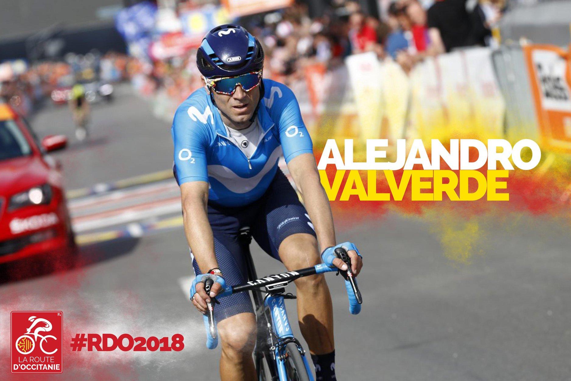 Valverde sur la Route d'Occitanie 2018