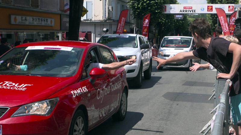 Participez à la caravane publicitaire de la Route d'Occitanie !